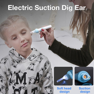 Electric Vacuum Ear Cleaner