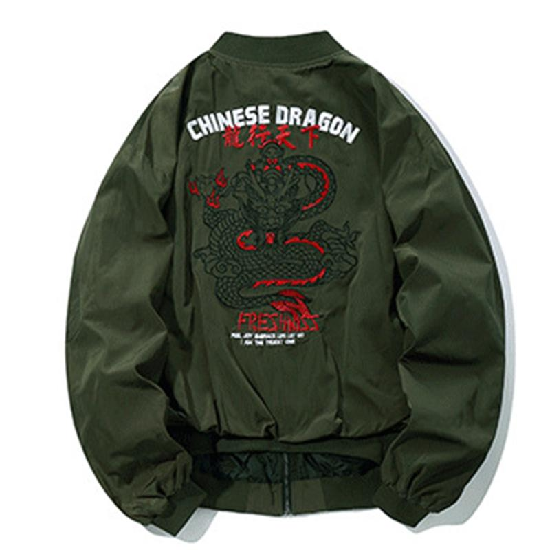 Dragon Embroidery Jacket