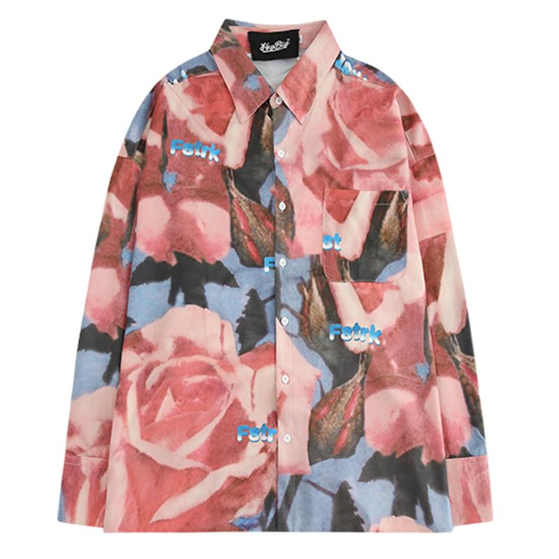 Full of Rose Flower Shirts