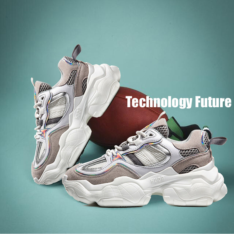 Stylish Breathable Platform Dad Sneakers(Women)