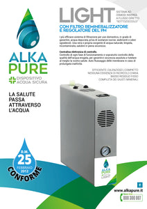 Depuratore Acqua Alkapure Light + GAS - Alkapure.it
