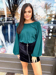 Kira Bell Sleeve Top - Vintage Cotton Boutique