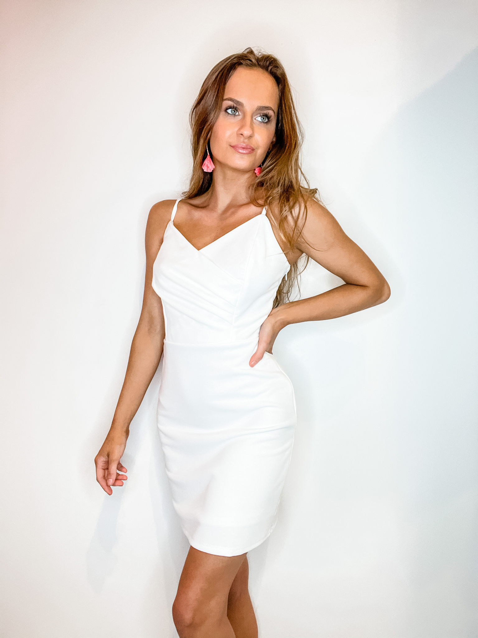 Ella White Dress