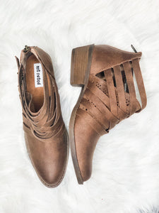 Gael Tan Booties - Vintage Cotton Boutique