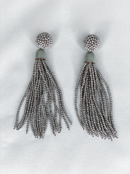 Rain on Me Tassel Earrings