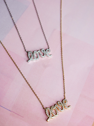LOVE Pyaar Necklace