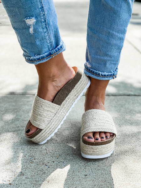 Palm Springs Platforms - Vintage Cotton Boutique