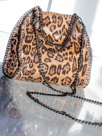 The Stella Leopard Bag