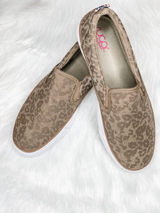 Zoey Leopard Slip-On - Vintage Cotton Boutique