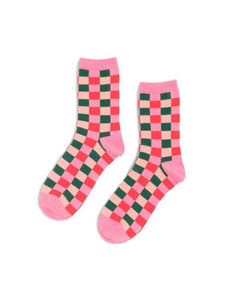 Bando Plaid Socks - Vintage Cotton Boutique