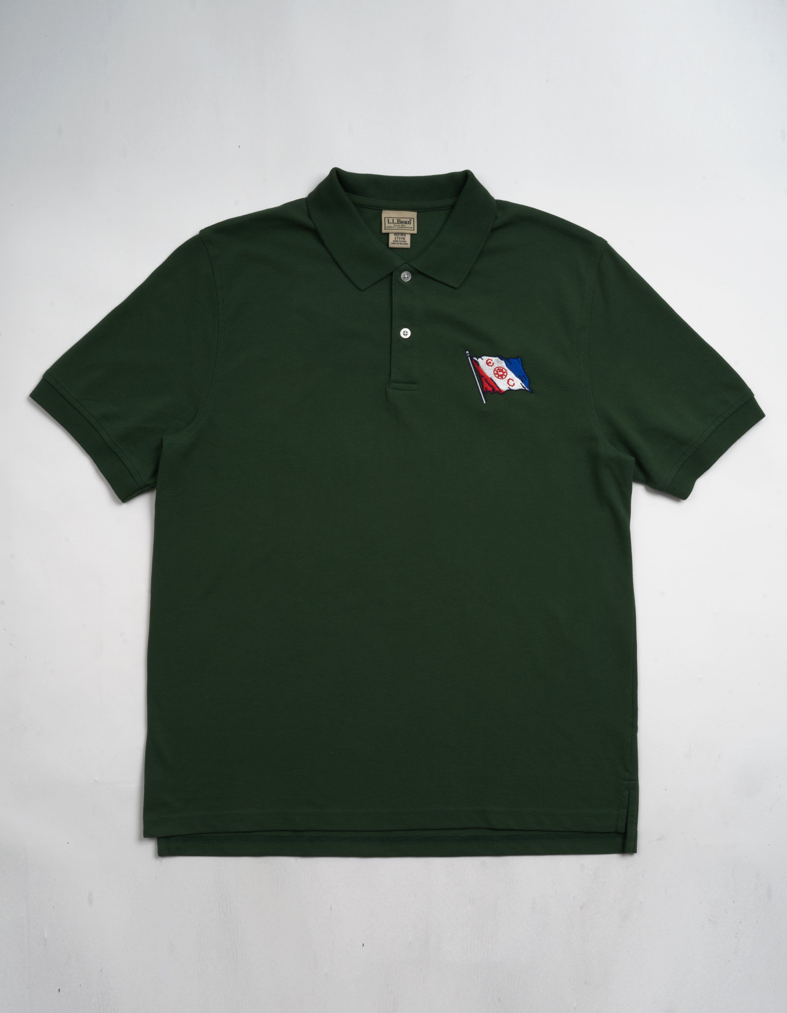 L.L. Bean Polo Shirt in Forest Green