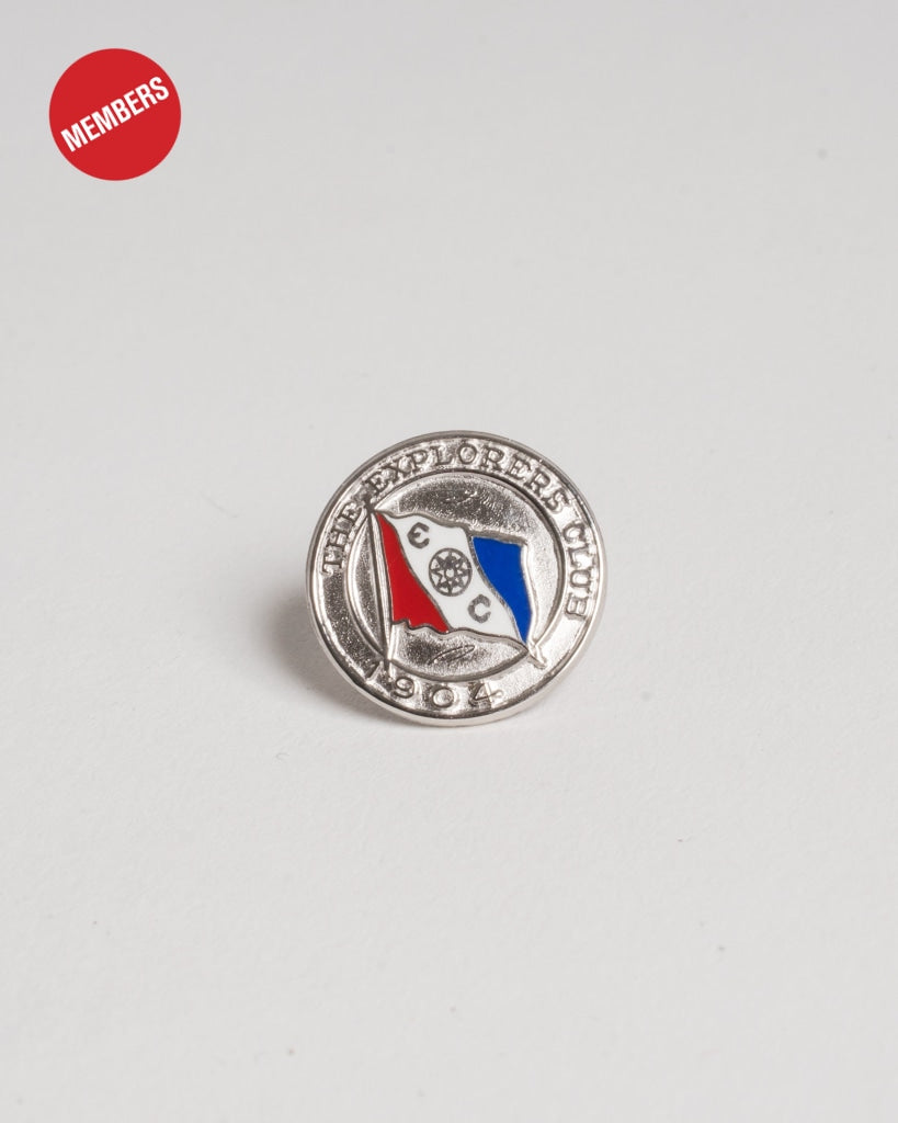 Limited Edition Sterling Silver Members Pin