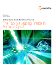 Benchmark report: The Top 50 Leading Brands In Venture Capital by Heardable