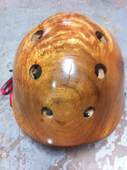 Sycamore wood Holz helmet with cork cushioning