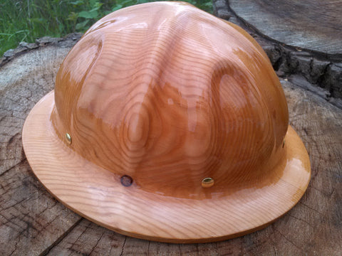 Hard Hat - Full Brim with Columns - Douglas Fir