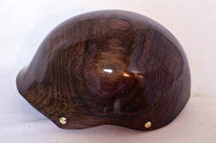 Black Walnut Holz helmet, no venting