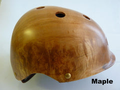 Madera - Maple wood helmet with cork