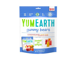 Yum Earth Gummy Snacks (5 pouches/bag)