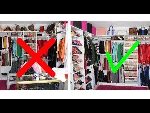 EXTREME CLEAN WITH ME | CLOSET PROFESSIONALLY ORGANIZED | Limpia Conmigo | Nigerian girl Isi Prom