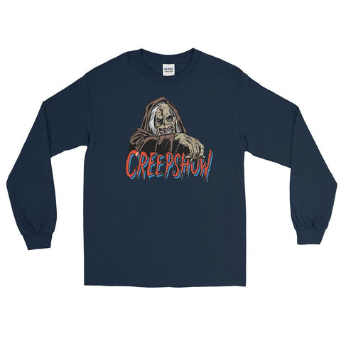 CBC Creep Long Sleeve T-Shirt Navy | Official Creepshow Store