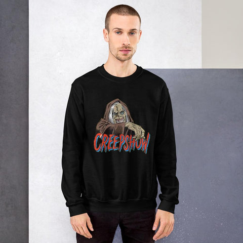 CBC Creep Sweatshirt Black | Official Creepshow Store