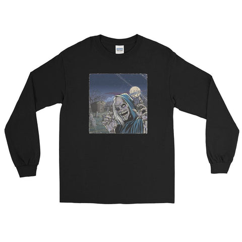 Creep Night Long Sleeve T-Shirt Black | Official Creepshow Store