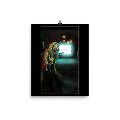 Creep on Black Print 8×10 | Official Creepshow Store