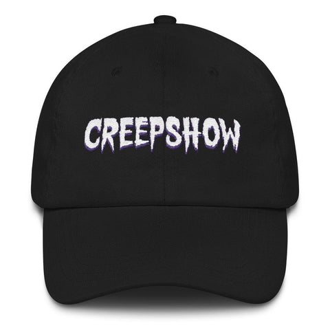 Logo Embroidered Dad Hat | Official Creepshow Store