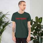 Logo Red Short-Sleeve Unisex T-Shirt Heather Forest | Official Creepshow Store