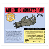 Authentic Monkey's Paw Ad Bubble-Free Stickers 5.5x5.5 | Official Creepshow Store