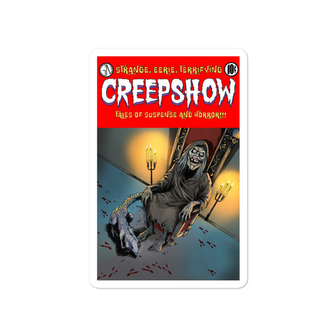 The Finger Cover Bubble-free stickers 4x4 | Official Creepshow Store