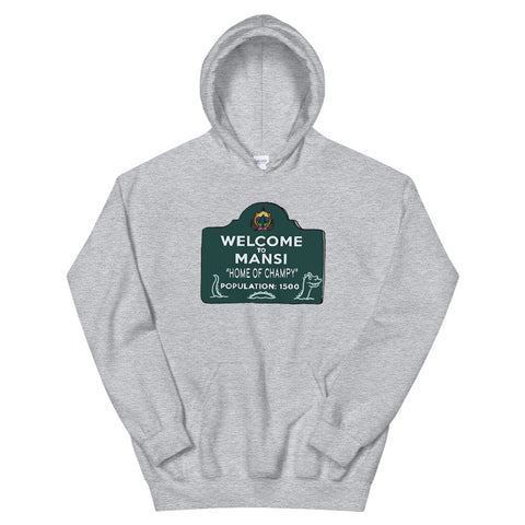 Home of Champy Unisex Hoodie Sport Grey | Official Creepshow Store