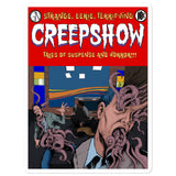 Skincrawlers Cover Bubble-Free Stickers 5.5x5.5 | Official Creepshow Store