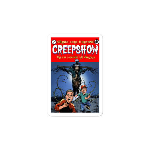 The Companion Bubble-Free Stickers 3x3 | Official Creepshow Store