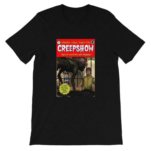 Zombie Girl Cover Heather Short-Sleeve Unisex T-Shirt Black Heather | Official Creepshow Store