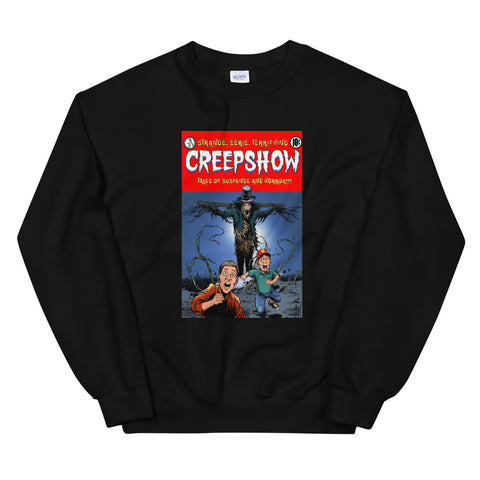 The Companion Heather Unisex Sweatshirt Black | Official Creepshow Store