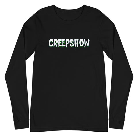 Home of Champy Back Hit Unisex Long Sleeve Tee Black | Official Creepshow Store
