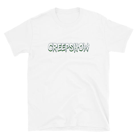 Lake Champlain Back Hit Short-Sleeve Unisex T-Shirt White | Official Creepshow Store
