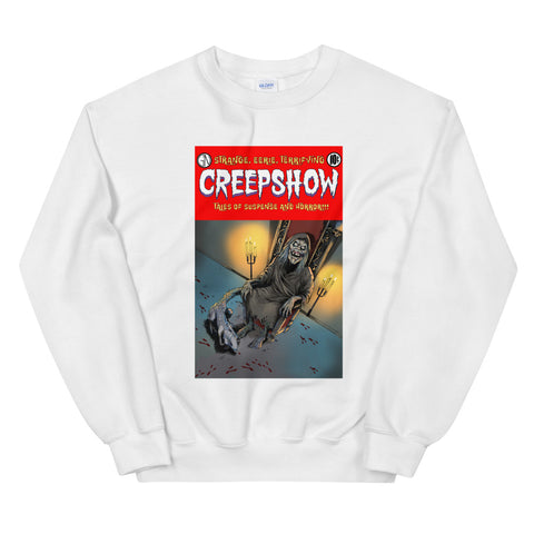 The Finger Cover Unisex Sweatshirt White | Official Creepshow Store