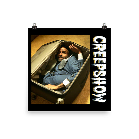 The Man in the Suitcase Photo Poster 18×18 | Official Creepshow Store