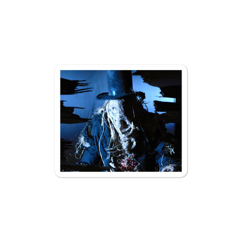 Scarecrow Bubble-Free Stickers 3x3 | Official Creepshow Store