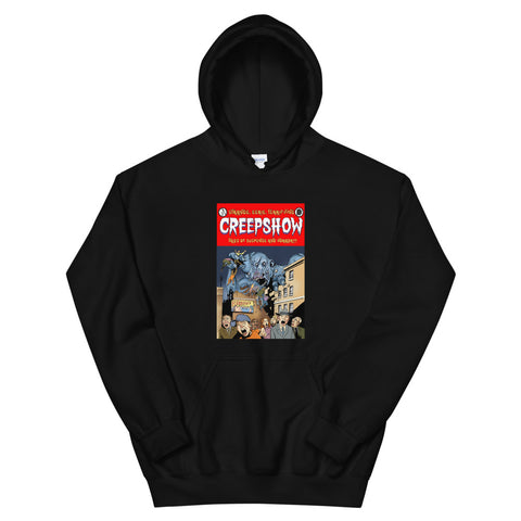 Gray Matter Cover Hooded Sweatshirt Black | Official Creepshow Store