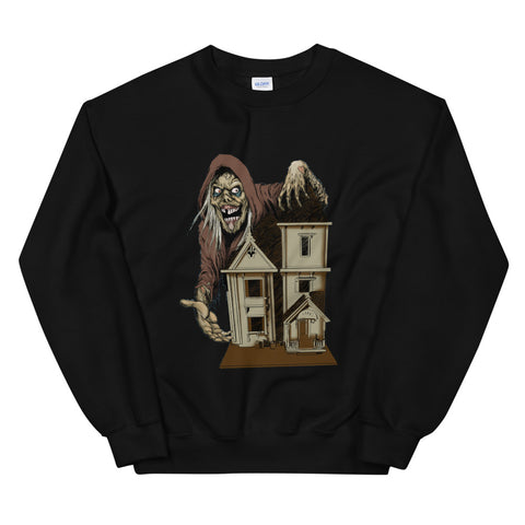 House of the Head Sweatshirt Black | Official Creepshow Store