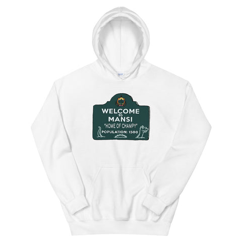 Home of Champy Unisex Hoodie White | Official Creepshow Store