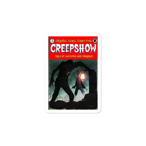 The Mummy Cover Bubble-Free Stickers 3x3 | Official Creepshow Store