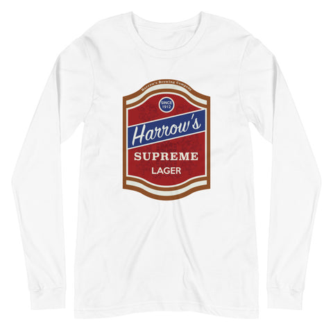 Harrow's Unisex Long Sleeve Tee White | Official Creepshow Store