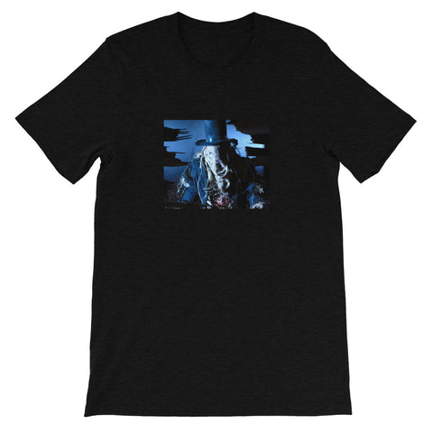 Scarecrow Heather Short-Sleeve Unisex T-Shirt Black Heather | Official Creepshow Store