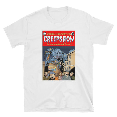 Gray Matter Cover Short-Sleeve Unisex T-Shirt White | Official Creepshow Store