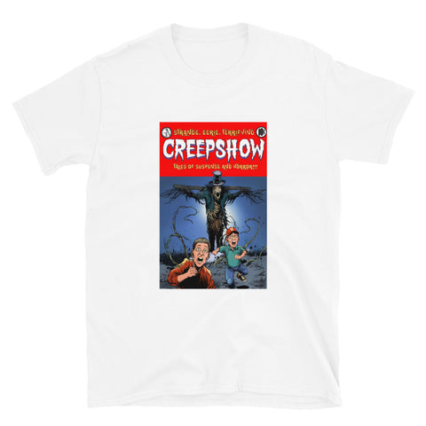 The Companion Short-Sleeve Unisex T-Shirt White | Official Creepshow Store