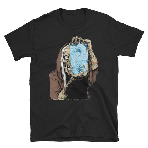 Jar Short-Sleeve Unisex T-Shirt Black | Official Creepshow Store